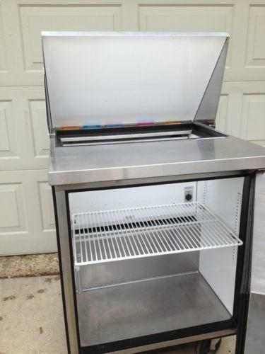Used Refrigerated Prep Table EBay - Commercial prep table refrigerator