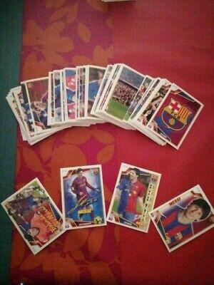 Panini 09/10 Barcelona de las 6 Copas Completa Con Messi Firmado