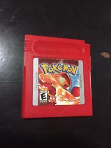 Pokemon red for gameboy