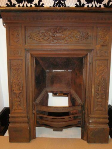 ideas basket antique blower used coal with electric fireplace insert remarkable lovely