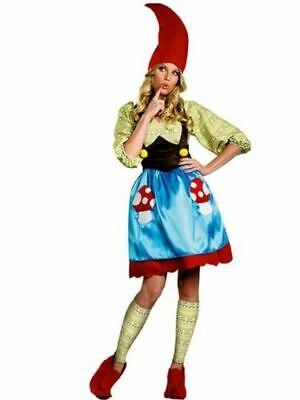 Adult Plus Size Ms Gnome Costume for Women Medium (8-10)