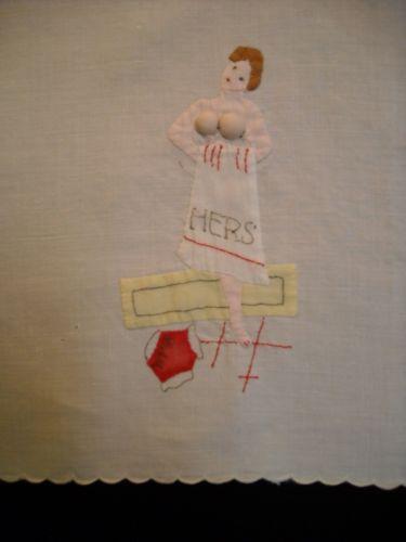 His Hers Towel Ebay