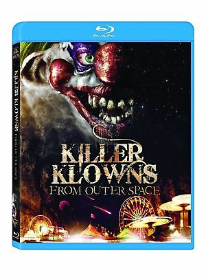 Blu Ray KILLER KLOWNS FROM OUTER SPACE. Region free. New sealed. Clowns. ()