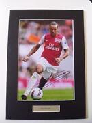 Theo Walcott Signed