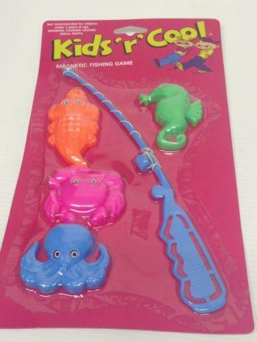 Fish Toy Game 70s : Toy fishing game ebay