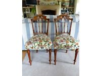 Chairs pretty french upholstered