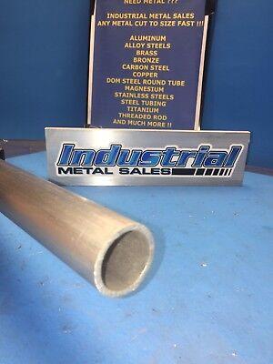 6061 Aluminum Round Tube 1-12 Od X 1-14 Id X 12--1.5 Od X 1.250 Id