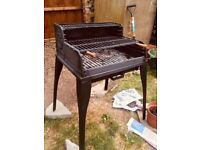 CAST IRON SOLID Grill Barbecue BBQ Grate Garden Charcoal Patio Open Fire