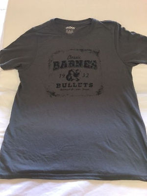 Barnes Bullets Classic T Shirt Graphic Reloading Target Shooting - You Pick -