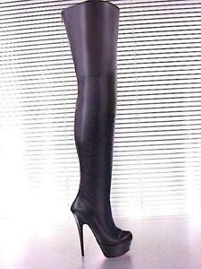 high heels overknees g nstig online kaufen bei ebay. Black Bedroom Furniture Sets. Home Design Ideas