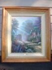 Thomas Kinkade Oil Floral Art Paintings