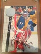 Patrick Roy Signed Card
