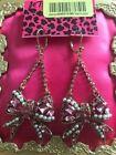 Betsey Johnson Pearl Love & Hearts Fashion Earrings