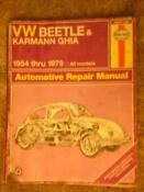 VW Beetle Repair Manual