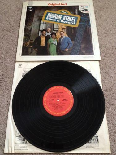Sesame Street Book Record Ebay