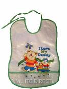I Love My Daddy Bib