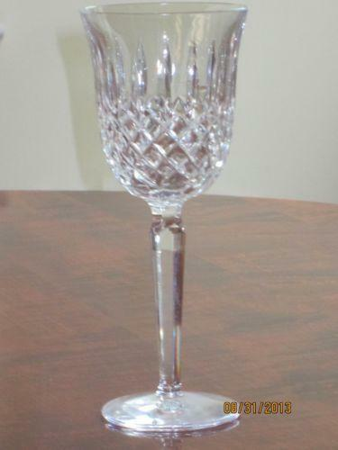 Waterford crystal red wine glasses ebay - Wedgwood crystal wine glasses ...