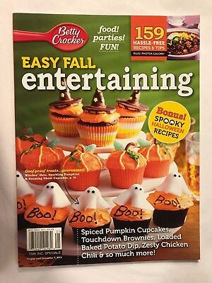 Halloween Spooky Recipes Easy (Betty Crocker Easy Fall Entertaining 2012 Spooky Halloween Recipes Chili)