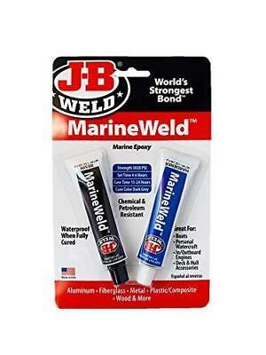 J-b Weld 8272 Marineweld Marine Epoxy Bonding Metal Aluminium Fiberglass Repair
