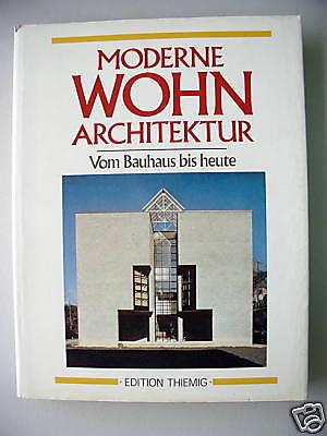 Moderne Wohn-Architektur Vom Bauhaus - heute Die Kunst