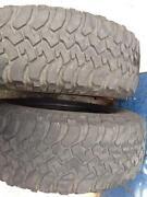 Used Mud Terrain Tires