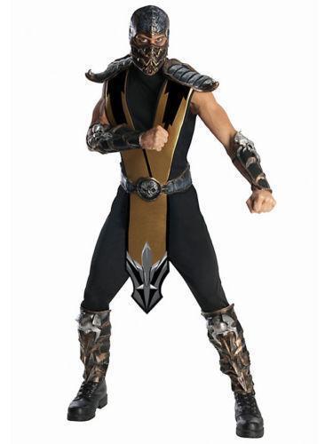 mens mortal kombat costumes - Mortal Kombat Smoke Halloween Costume