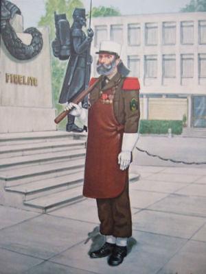 French Foreign Legion Postcard