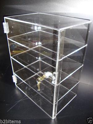 Acrylic Countertop Display Case 12 X 6 X 16 Locking Security Show Case Safe B