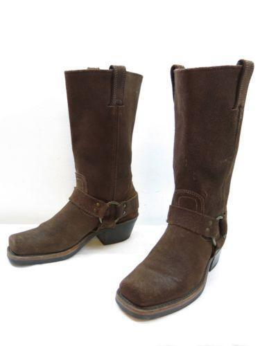 Womens Frye Campus Boots Ebay