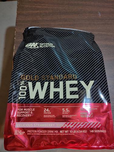 Optimum Nutrition ON 100% Whey Protein Gold Standard Delicio