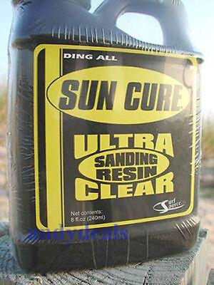 Kyпить Sun Cure Fiberglass Sanding Resin, 1/2 Pint на еВаy.соm