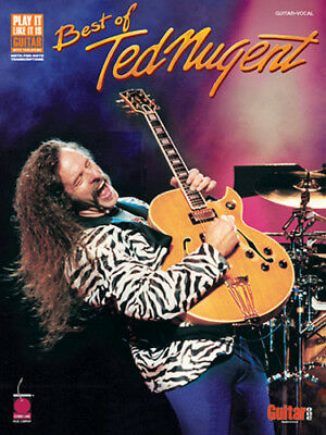 TED NUGENT GUITAR TAB / TABLATURE / *BRAND NEW* / BEST OF TED NUGENT /