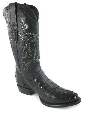 Herren Western Cowboystiefel Krokodil Schwanzleder Kaiman Cuadra 2C01FC - Krokodil Cowboy Stiefel