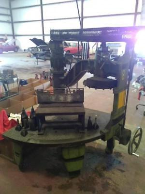 Storm Vulcan 85b Head Block Resurface Milling Machine Rottler Winona Roll Over