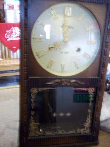 31 Day Wall Clock Ebay