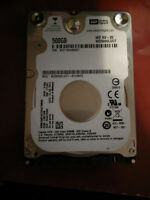 NEW 500GB LAPTOP SATA II HARD DRIVE - $50