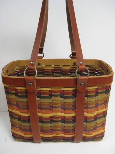 Longaberger Multi Color Basket Ebay