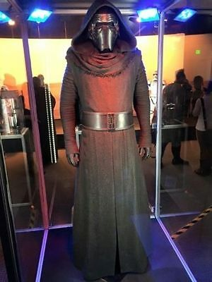 US SHIP! STAR WARS Kylo Ren Adult Costume Force Awakens Deluxe Cosplay Full Set ](Ren Costumes)