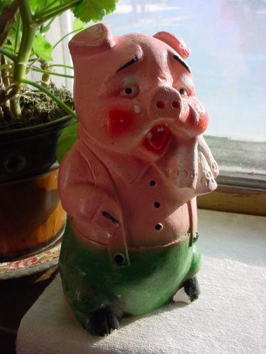 antique piggy banks