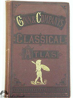 Ginn & Company's Classical Atlas 1894
