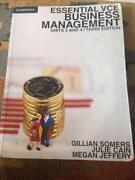 Business Management VCE Units 3&4