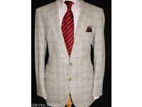 Christian Dior Mens Check Tweed Jacket *Size 44R* (ORIGINAL)