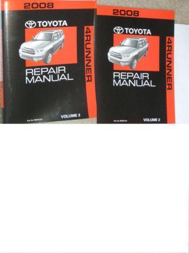 Toyota 4runner Repair Manual