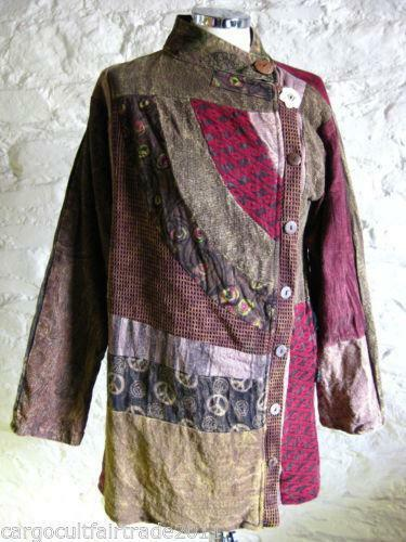 Patchwork Coat Ebay