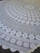 White Cotton Tablecloth