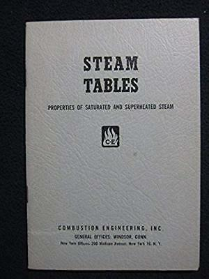 Steam Tables - Properties Of Saturated And Superheated Steam - From 0.0886 To .. Superheated Steam Table