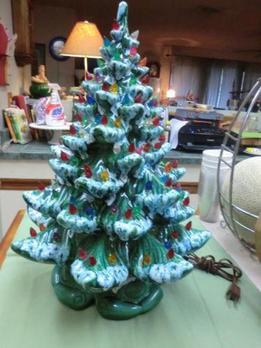 Ebay Ceramic Christmas Trees