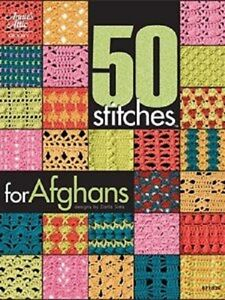50 Stitches for Afghans Crochet Pattern Book - Annie's Attic