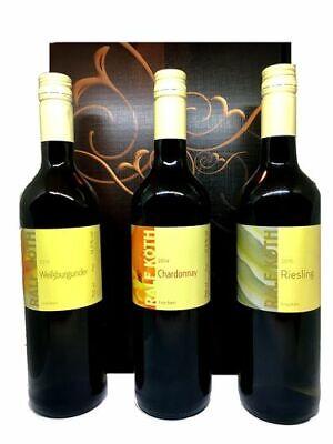 Weinset Weingut Köth Weißwein 3 x 0,75l im Geschenkkarton