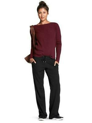 Athleta Midtown Trouser Pants Commute Travel | Black 6P (Small Petite) #721765